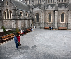 External seating for historic Christ Church Cathedral