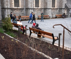 External benches for historic Christ Church Cathedral
