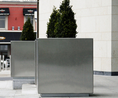 s57 stainless steel tree planters