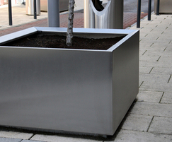 s57 stainless steel tree planter