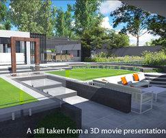 Cedar Nursery Plants & Outdoor Living: Garden design innovations with 3D animation