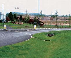 KerbDrain highway SUDS scheme, Buckshaw village