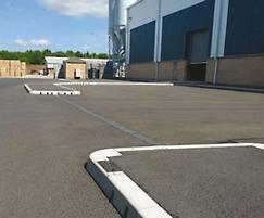 KerbDrain, staff car park