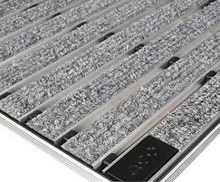 ACO inDoor light grey carpet & aluminium mat