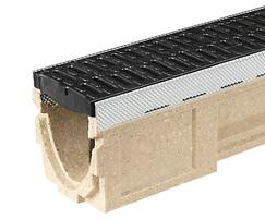 ACO CivicDrain channel and grating