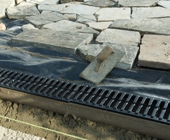 RainDrain B 125 channel drainage