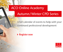 ACO Water Management: ACO Academy - Autumn / Winter webinar series