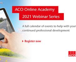 ACO Water Management: ACO Academy - 2021 webinar series