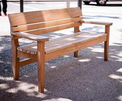 Children's Chico bench at Catford Broadway
