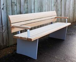 Wales & Wales Norfolk bench; FSC European oak,