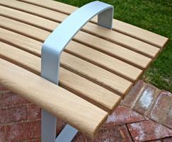Meko arm/leg detail, optional powder coating