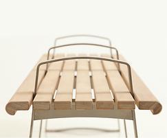 Meko bench end detail