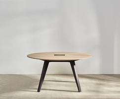 Victoria Round meeting table in ash