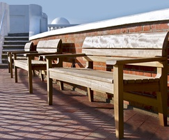 Chico benches at Bexhill-on-Sea