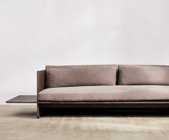 Benchmark Muse Sofa Ash DarkGreyOiled Leather 12331Cx 2