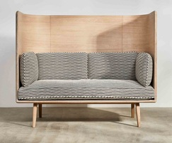 Sage high sofa - Oak