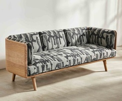 Sage low sofa - Oak