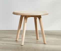 Sage side table with sycamore top and legs