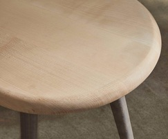 Sage side table with sycamore top and ash legs
