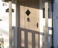Timber door - residential
