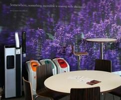 Bespoke digitally-printed wallpaper