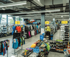 Syl-Line HSX units for Decathlon store