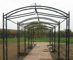 Arches up to 5m wide and 3.5m high can be provided