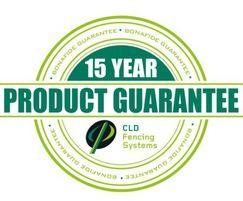 Simple 15 year product guarantee