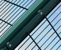 Dulok Sport™ double wire panel system
