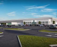 Travis Perkins regional distribution centre