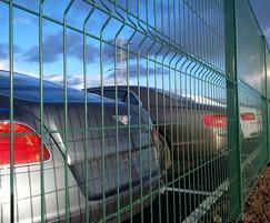 Exempla™ fencing keeps cars safe for Bentley Motors
