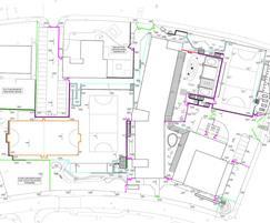 Fencing plan, Garfield Primary School