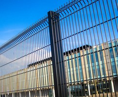 Fencing offers a high level of security for police