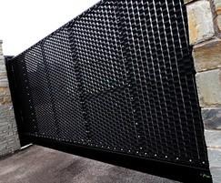 LPS 1175 SR2 security sliding gate