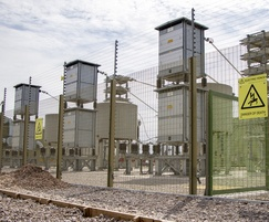 Securus-Lite SR1 and electric pulse fencing, substation