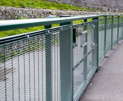 Sports Rail fencing protects spectators at tracks
