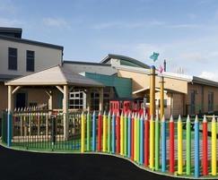 CLD Playground Fence, Buckshaw Village Primary