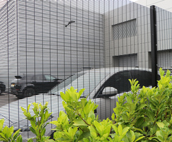 Securus-Lite SR1 358 security mesh fencing system