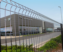 Eclipse-60 V mesh profiled fencing system
