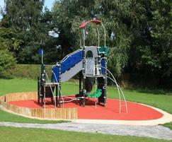 Playground - designed and installed