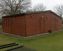 Fully Secure Bowls Pavilion