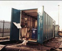 Highly secure vandal resistant effluent treatment plant