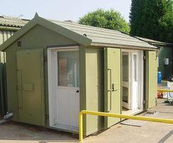 Highly secure weighbridge cabins