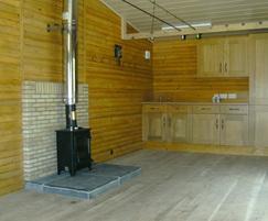 Modular fishing lodge - interior