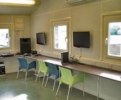 Youth Unit's computer room