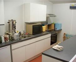 Kitchen area, Albert Park Bowls Club pavilion