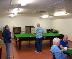 Social area, Albert Park Bowls Club pavilion