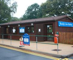 Visitor centre, Ruislip Lido Railway Society