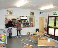 Inside Ruislip Lido Railway Society visitor centre