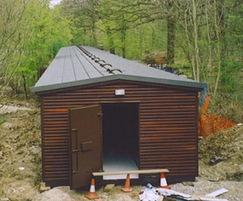 Storage shed, Ruislip Lido Railway Society